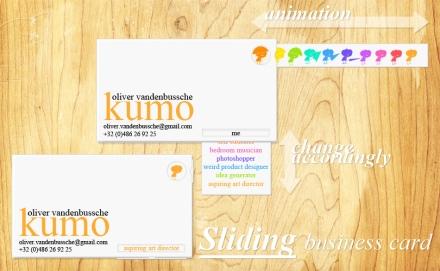 multiple job business card