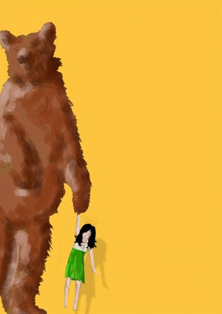 Teddygirl digital paint