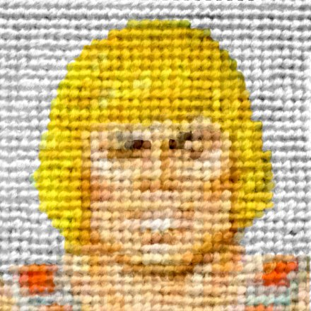 He-Man embroidery