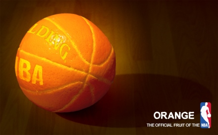 Official ball of the NBA