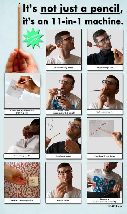 Not just a pencil