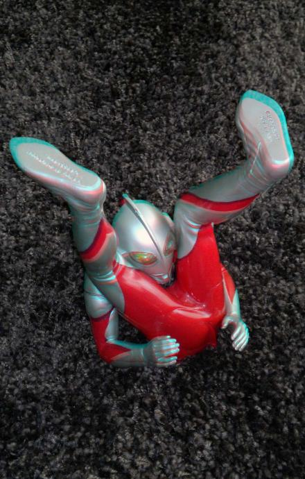 Ultraman in 3D